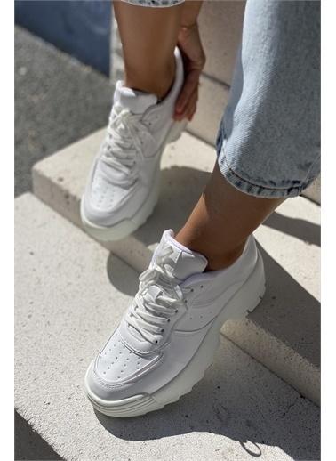 İnan Ayakkabı KADIN SNEAKERS Beyaz